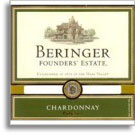 2011 Beringer Vineyards Chardonnay Founders' Estate