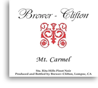 2011 Brewer-Clifton Pinot Noir Mount Carmel Vineyard Sta. Rita Hills