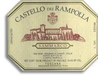 2007 Castello Dei Rampolla Sammarco Toscana Rosso
