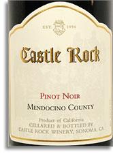 2006 Castle Rock Winery Pinot Noir Mendocino County