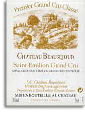 2009 Chateau Beausejour-Duffau-Lagarrosse Saint-Emilion
