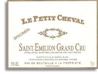 2000 Chateau Cheval Blanc Le Petit Cheval Saint-Emilion