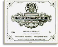2002 Chateau Coutet Sauternes (Barsac) (Pre-Arrival)