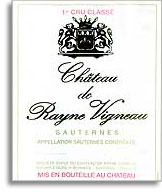 1959 Chateau De Rayne Vigneau Sauternes