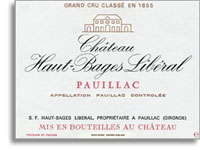 2005 Chateau Haut Bages Liberal Pauillac