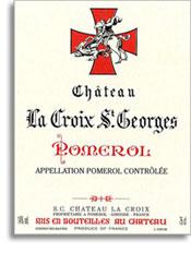 2000 Chateau La Croix St. Georges Pomerol
