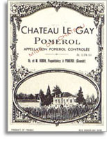 1989 Chateau Le Gay Pomerol