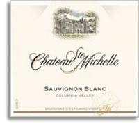 2010 Chateau Ste. Michelle Sauvignon Blanc Columbia Valley
