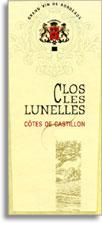 2012 Clos Les Lunelles Castillon Cotes De Bordeaux