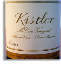 2011 Kistler Vineyards Chardonnay Mccrea Vineyard Sonoma Mountain
