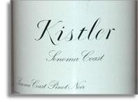 2011 Kistler Vineyards Pinot Noir Sonoma Coast
