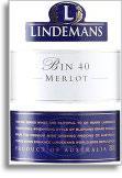 Vv Lindemans Wines Bin 40 Merlot