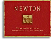 Vv Newton Vineyards Chardonnay Red Label Sonomanapa Counties