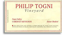 2001 Philip Togni Vineyard Cabernet Sauvignon Estate Bottled Spring Mountain Napa Valley