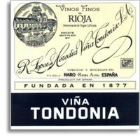 1995 R. Lopez de Heredia Vina Tondonia Gran Reserva Rioja