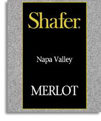 2012 Shafer Vineyards Merlot Napa Valley