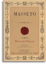 2001 Tenuta dell'Ornellaia Masseto Bolgheri Rosso