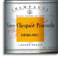 NV Veuve Clicquot Ponsardin Demi Sec