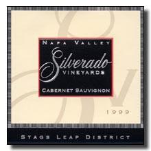 2007 Silverado Vineyards Cabernet Sauvignon Stags Leap District