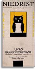 2010 Ignaz Niedrist Sudtirol Terlaner Weissburgunder