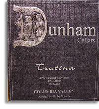 2010 Dunham Cellars Trutina Red Blend Columbia Valley