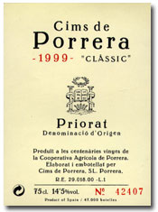2007 Cims De Porrera Classic Priorato