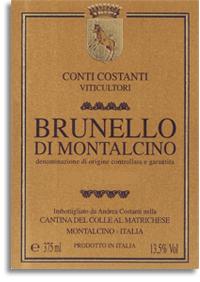 2007 Costanti Brunello Di Montalcino