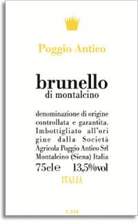 2007 Poggio Antico Brunello Di Montalcino