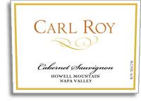 2007 Carl Roy Cabernet Sauvignon Howell Mountain