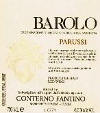 2004 Conterno Fantino Barolo Parussi