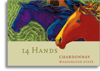 2006 14 Hands Chardonnay Washington