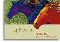 2009 14 Hands Riesling Washington