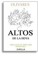2011 Bodegas Olivaras Altos De La Hoya Monastrell Jumilla