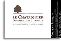 2012 Domaine De La Citadelle Cuvee Cotes Du Luberon Le Chataignier Rouge