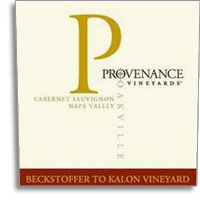 2010 Provenance Vineyards Cabernet Sauvignon Beckstoffer To-Kalon Vineyard Oakville Napa Valley