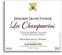 2010 Domaine Grand Veneur Cotes Du Rhone Villages Les Champauvins