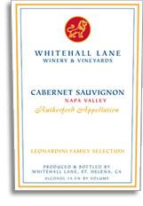 2010 Whitehall Lane Winery Cabernet Sauvignon Leonardini Vineyard