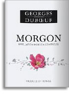 Vv Georges Duboeuf Morgon Flower Label