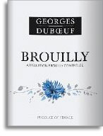 2010 Georges Duboeuf Brouilly Flower Label