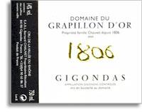 2007 Domaine du Grapillon D'Or Gigondas 1806