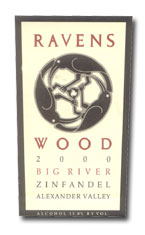 2011 Ravenswood Winery Zinfandel Big River Vineyard Alexander Valley