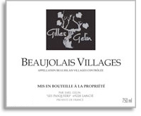 2010 Gilles Gelin Beaujolais Villages