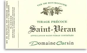 2008 Domaine Corsin Saint-Veran