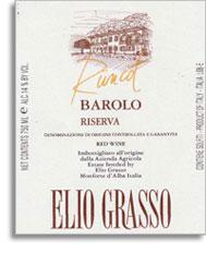 2004 Elio Grasso Barolo Runcot Riserva