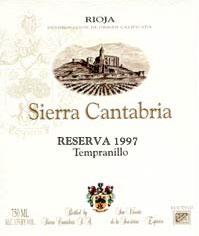 2007 Bodegas Sierra Cantabria Rioja Reserva
