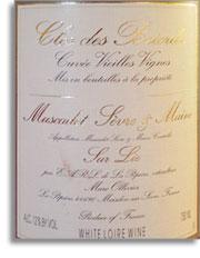 2008 Domaine De La Pepiere Muscadet Sevre Et Maine Clos Des Briords Cuvee Vieilles Vignes