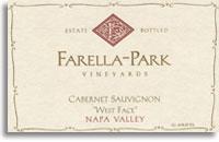 2007 Farella-Park Vineyards Cabernet Sauvignon West Face Napa Valley
