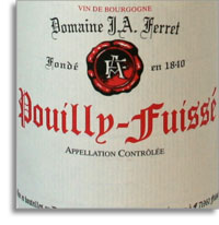 2009 Domaine J. A. Ferret Pouilly Fuisse
