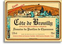 2009 Domaine Du Pavillon De Chavannes Cote De Brouilly Cuvee Des Ambassades