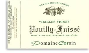2008 Domaine Corsin Pouilly Fuisse Vieilles Vignes